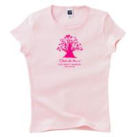 オリジナルロゴTシャツ ピンク
